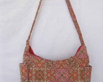 Handmade Quilted Hobo Purse