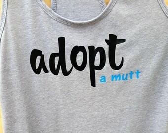 Adopt A Mutt Tank Top