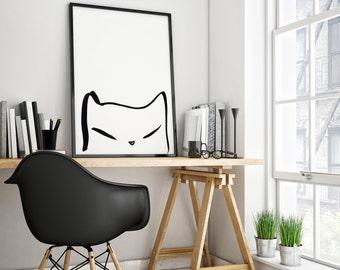 The minimalist cat