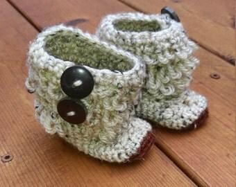 Baby Ugg Boots, Crochet Booties, Uggs, Custom Made, Slippers, Photo Prop