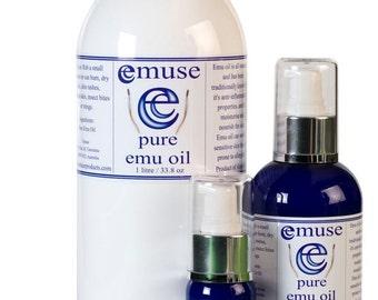 Emuse ~ Pure Emu Oil 1 litre / 33.8oz