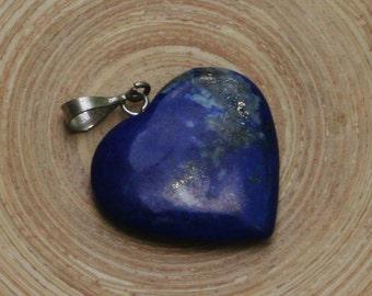 Simply Beautifull Lapis Lazuli Heart Pendant