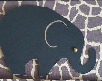 Elephant note cards each with unique Safari print envelope.