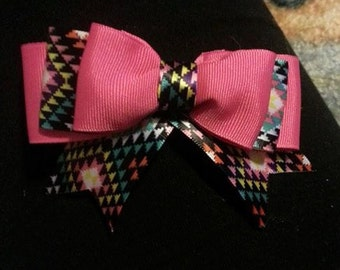 Clip in bow for toddler/baby