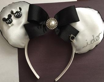 "Wedding Day ""I Do"" Mickey Ears"