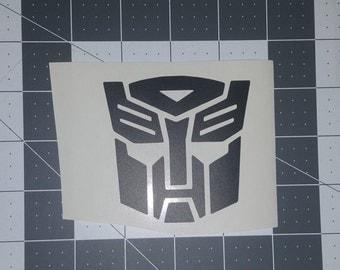 Optimus Prime face decal/sticker