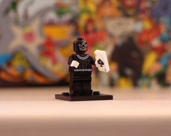 Bullseye Lego style mini figure