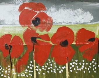 Tom Byrne 'Poppies'
