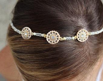 Handmade Boho Bridal Headband