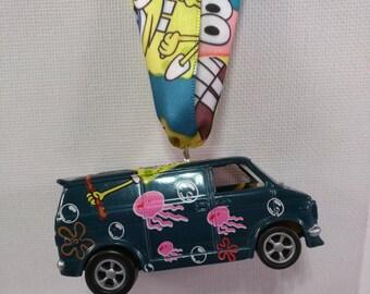 Sponge Bob Chevrolet Van Ornament- FREE SHIPPING - Chevy van  Christmas Ornament