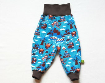 Baby Pants, Baby Harem Pants, Baby Viking Pants, Toddler Harem Pants, Viking Toddler Pants