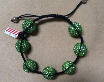 Big Crystal Ball Bracelet