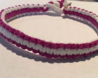 Cotton Macrame bracelet