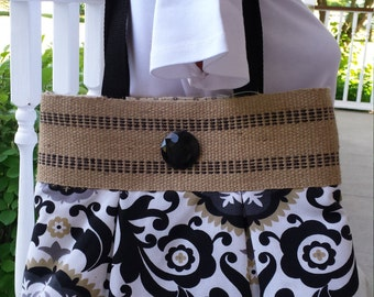 Handmade Handbag Purse Pocketbook Shoulder Bag by BEEDZnBAGZ