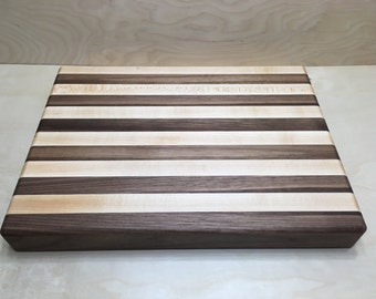 Striped Edge-grain Cutting Board