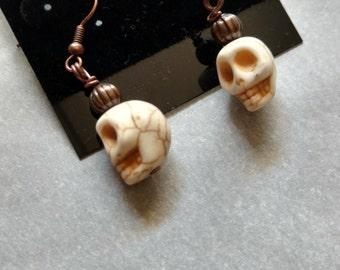 Dia de Los Muertos- Skull earrings
