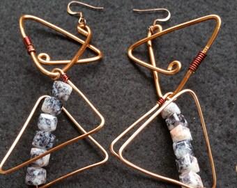 Bermuda Triangle Earrings
