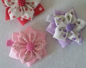 Flowers hair  clip