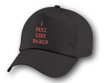 I Feel Like Pablo, I Feel Like Pablo Cap, Pablo Hat, Black Cap, Kanye West, Yeezy, Yeezus, The Life of Pablo, , Pop Up Tour Merch, Pablo.