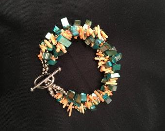 Chunky Seashell Bracelet