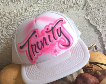 Trinity hand air brushed hat