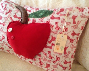 Apple Crush' Original Handmade Cushions