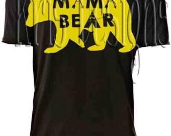 Mama Bear SVG PNG JPG