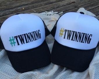 Twinning Trucker Hats