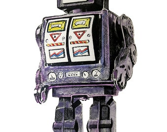 Robot Digital Print