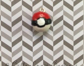 Tiny Pokeball Charm