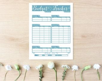 Financial Planner - Budget Planner Printable - Finance Binder - Budget Binder - Finance Planner - Budget Printable - Financial Organizer -