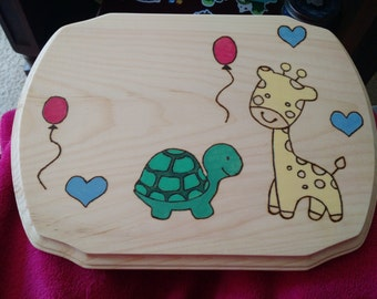 Personalized Baby Plaque