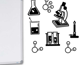 Science Bundle Vinyl Wall Decal Classroom Decal Sticker Science Classroom Decoration Teacher