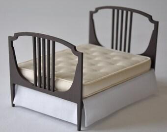 Cream double mattress
