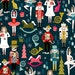 Nutcracker Christmas Gift Wrap. Wrapping Paper. Baby Gift Wrap. Xmas Wrapping Paper. Presents Gift Wrap. Nutcrackers. Ballet Satin Gift Wrap