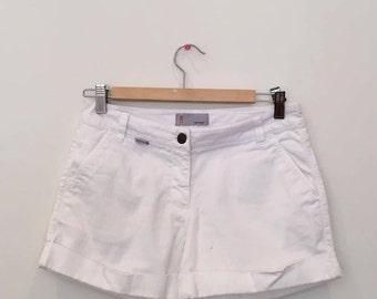 Vintage Missoni white shorts - size small - 4 pockets - perfect condition - designer