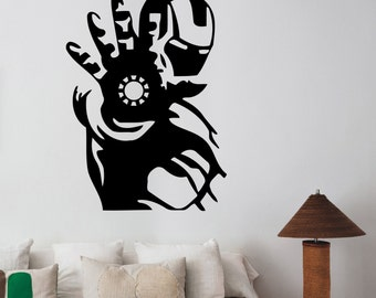 Iron Man Wall Stickers Peenmediacom  sc 1 st  Elitflat & Iron Man Wall Art - Elitflat