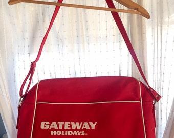 Vintage Gateway Holidays Travel Bag