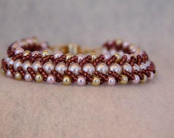 Tri-Colored Beaded Bracelet #26004