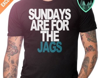 Jacksonville Jaguars Sunday Shirt, Sundays are for the Jags Shirt, Jaguars Shirt, Sundays are for the Jaguars Shirt, Jacksonville Jags Gift