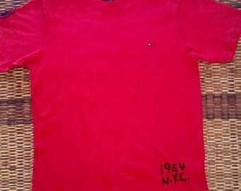 Tommy Hilfiger New York 54 TH-USA - hip-hop rap rnb Skateboard T-shirt