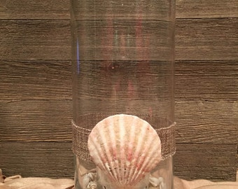Large Glass Cylinder Candle