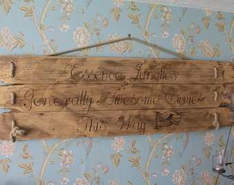 Bespoke Hand-made Wedding / Home / Birthday signs