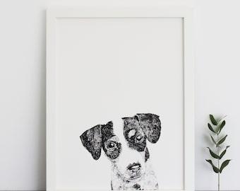 Jack Russell Print