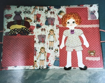 Magnetic Paper Doll Etsy