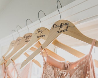 Handcrafted Bridesmaid Hangers