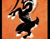 Ixion -  Final Fantasy inspired illustration