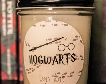 Hogwarts 100% Soy Candle Harry Potter Inspired Candle