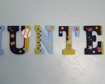 Lambs and Ivy Bow Wow Baby Letters