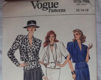 Uncut - Vogue Patterns 9968 - 12-14-16